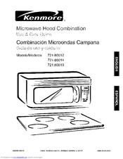 kenmore 721 80019 manuals rh manualslib com kenmore microwave hood combination owners manual kenmore microwave hood combination owners manual