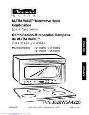 Kenmore Elite Ultra Wave 721 80864
