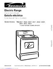 Kenmore 790 9641 Series Manuals