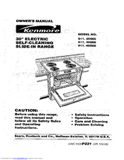 kenmore 911 46565 manuals rh manualslib com kenmore self cleaning convection oven manual kenmore self cleaning oven instructions manual