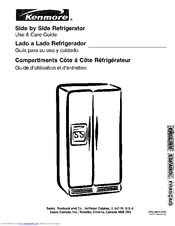 kenmore 253 use and care manual pdf download rh manualslib com kenmore model 253 refrigerator manual Kenmore Refrigerator Model 253 Upright