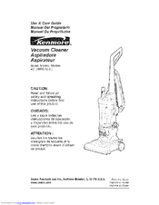Kenmore 401.39000 Use And Care Manual