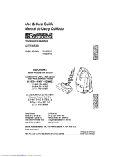 Kenmore 2029915 - Canister Vacuum Use And Care Manual