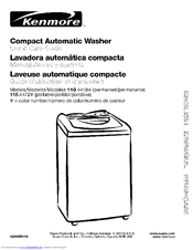 Kenmore 1 10.4418 Series Use & Care Manual