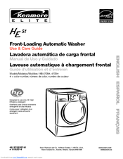 Kenmore HE5t Use And Care Manual