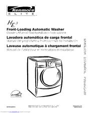 kenmore elite he3 manuals rh manualslib com kenmore front load washer manual kenmore elite he3 front load washer manual