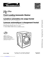 kenmore he2 plus 110 4751 series manuals rh manualslib com kenmore he2 plus washer parts diagram kenmore he2 plus washer manual spin