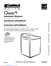 Kenmore 2708 Use And Care Manual