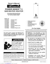 KENMORE POWER MISER 153.336333 OWNER'S MANUAL Pdf Download. on