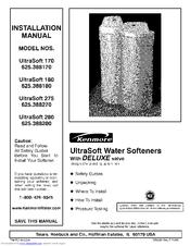 Kenmore Ultrasoft 280 Installation Manual