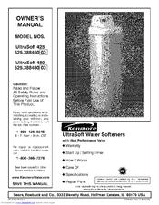 kenmore ultrasoft 425 owner s manual pdf download