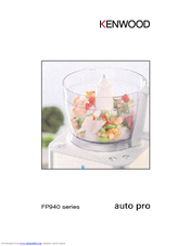 Kenwood Auto Pro FP940 series Owner's Manual