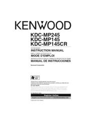 [DIAGRAM_38ZD]  Kenwood KDC-MP245 Manuals | ManualsLib | Kenwood Kdc Mp245 Wiring Diagram |  | ManualsLib