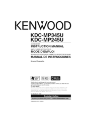 kenwood kdc mp345u manuals rh manualslib com