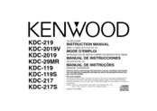 Kenwood KDC-119 Instruction Manual