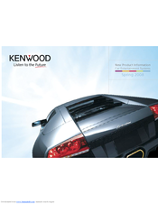 Kenwood KDC-W4041W Product Information