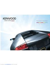 Kenwood KAC-6404 Manuals on