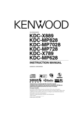 Kenwood Kdc X889 Wiring Diagram on kenwood car cd player wiring diagram
