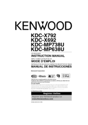 wiring diagram for kenwood cd receiver with Kdc X692 Wiring Diagram on Clarion Dxz475mp Wiring Diagram together with Kdc X692 Wiring Diagram in addition Sony Xplod Stereo Wiring Diagram besides Kenwood Kdc Mp245 Wiring Diagram also Kenwood Am Fm Stereo Receiver.
