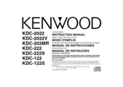 Kenwood 2022V Instruction Manual