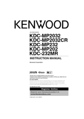 kenwood kdc 232mr instruction manual pdf download rh manualslib com