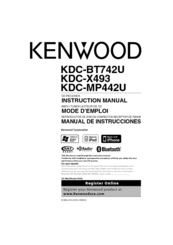 kenwood excelon kdc x493 manuals rh manualslib com Old Kenwood Car Stereos Kenwood KDC 400U Instruction Manual