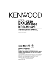 Kenwood KDC-MP5028 Instruction Manual