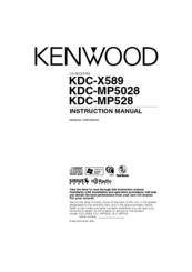 Kenwood KDC-MP5028 Instruction Manual