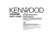 Kenwood KDC-319 Instruction Manual