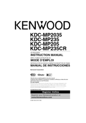 Kenwood MP235 - KDC Radio / CD Manuals on kenwood kdc 138 connector, kenwood cd receiver wire diagram, kenwood radio diagram, kenwood wiring harness diagram, kenwood radio kdc-152 wiring, kenwood stereo wiring, gm radio wiring harness diagram, kenwood home receiver diagram, kenwood speaker wiring diagram, kenwood kdc bt755hd wirining,