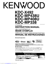 kenwood kdc mp408u manuals rh manualslib com