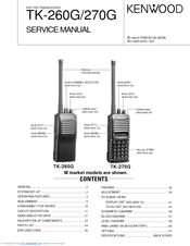 kenwood tk 260g service manual pdf download rh manualslib com Kenwood Two-Way Radio Headsets Kenwood Two-Way Radio Parts