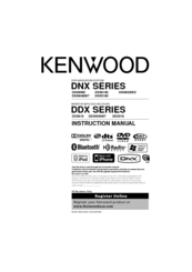 Kenwood DDX616 Instruction Manual