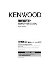 kenwood ddx8017 excelon dvd player manuals rh manualslib com Kenwood Model KDC Install Wiring Kenwood KAC 606 Manual