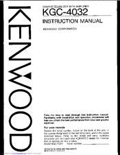 kenwood kgc 4032 instruction manual pdf