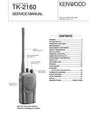 kenwood tk 2160 manuals rh manualslib com Kenwood VHF Marine Radios Raymarine VHF Radios