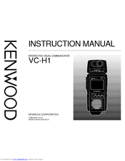 Kenwood VC-H1 Instruction Manual