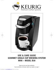 keurig b30 manuals rh manualslib com Reusable K-Cups for Keurig Coffee Makers Keurig B100 Coffee Maker