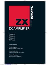 kicker zx750 1 manuals