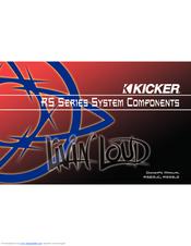 kicker rs manuals kicker rs65 2 owner s manual
