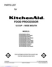 kitchenaid mini food processor instructions