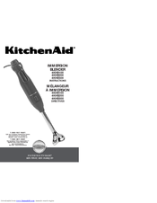 KitchenAid 4KHB100 Instructions Manual