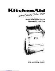 KitchenAid KEYE550V Use And Care Manual