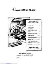 KitchenAid KEYE870B Use And Care Manual
