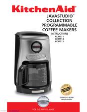Kitchenaid Javastudio Kcm514 Manuals