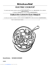 KitchenAid KECD866RBL - Pure 36 Inch Smoothtop Electric Cooktop Use And Care Manual