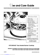 KitchenAid KGCT305G Use And Care Manual