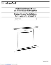 Kitchenaid Dishwasher Instructions