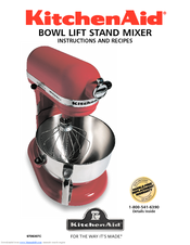 KitchenAid KP26M1XDP - Professional 600 Series Stand Mixer User Manual