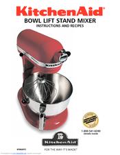 kitchenaid kv25g0xer professional 5 plus 450 watt stand kitchenaid artisan mixer user manual kitchenaid artisan stand mixer instruction manual